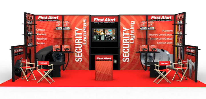 First Alert Trade Show Booth « Cimetta Design Case Studies