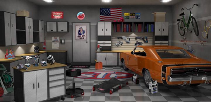 Stp garage cimetta design case studies - Decoration garage maison ...