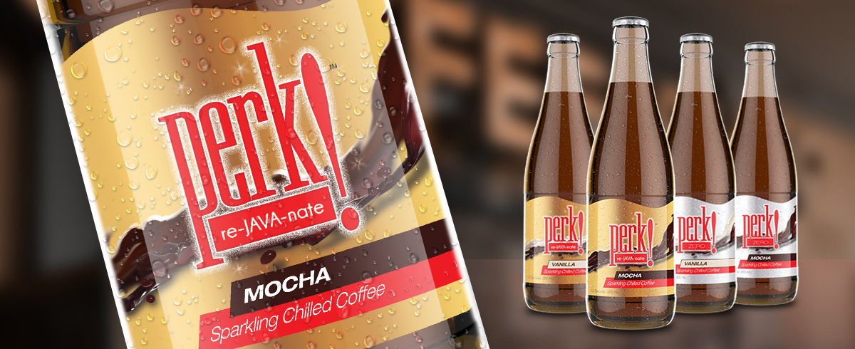 Perk! Soda Package Design - Beverage and Alcohol Package Design