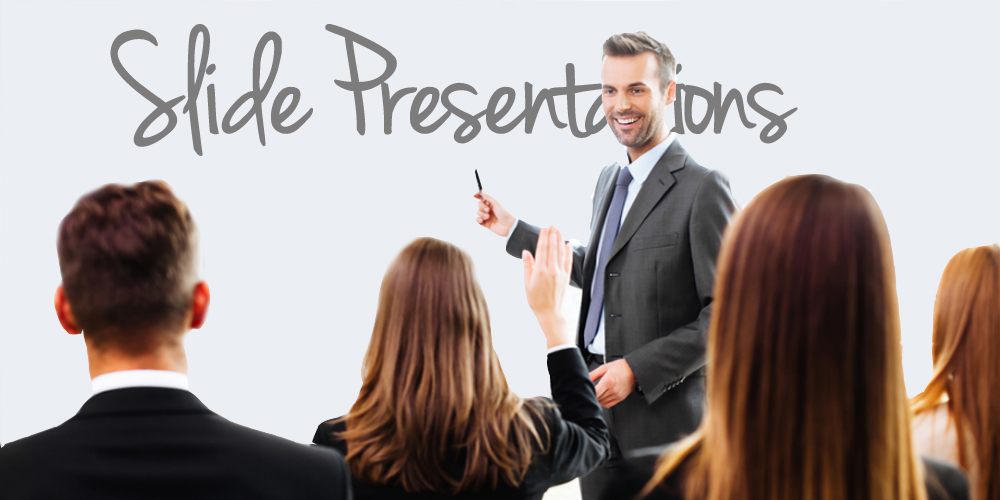 Tell Your Story: How to give a Slide Presentation